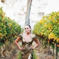 Wedding Dresses, Fashion, gold, dress, Sequin