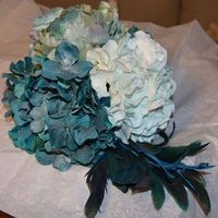 Flowers & Decor, white, blue, green, silver, Flowers, Inspiration board