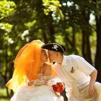 Veils, Fashion, orange, Veil, Bridal