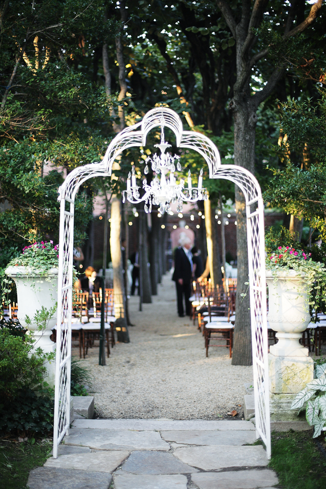 Ceremony, Flowers & Decor, Site, Chandelier, Archway, Décor, Marlysa john