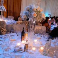 Reception, Flowers & Decor, silver, Centerpieces, Flowers, Centerpiece, And