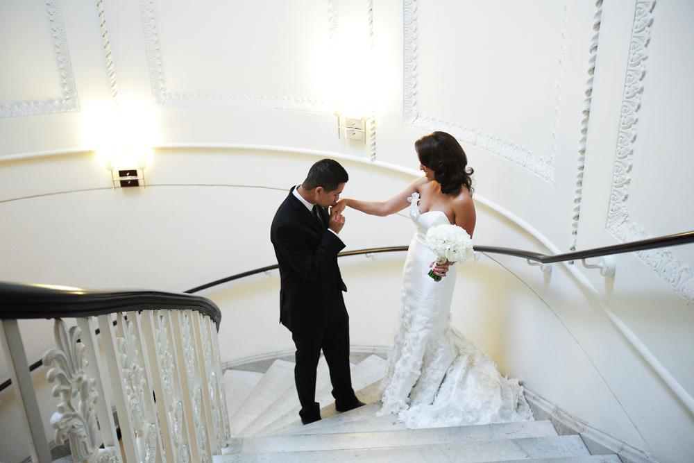 Bride, Groom, First, Look, Marlysa john