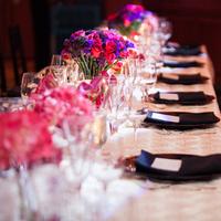 Reception, Flowers & Decor, pink, purple, Flowers, Wedding, Tablescape, Jennifer jamie, Ballroom reception