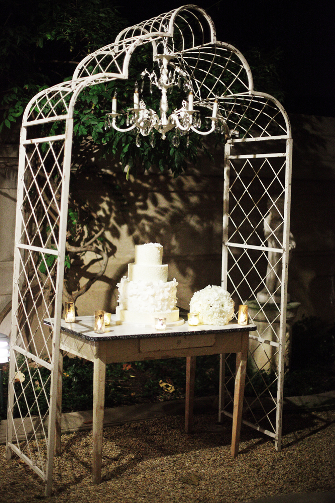 Reception, Flowers & Decor, Cakes, ivory, cake, Marlysa john