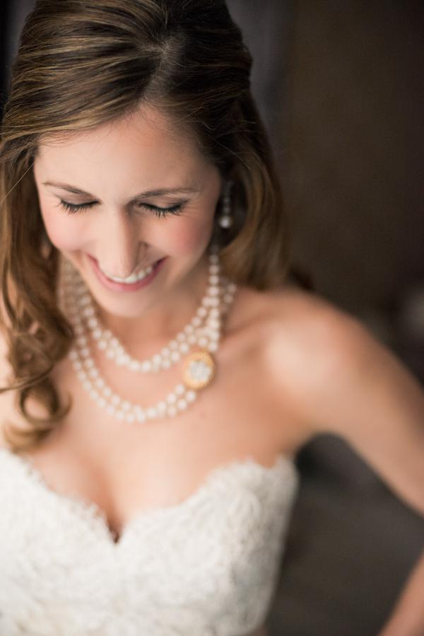 Bride, Necklace, Wedding dress, Alvina valenta, Sweetheart neckline, Jennifer jamie
