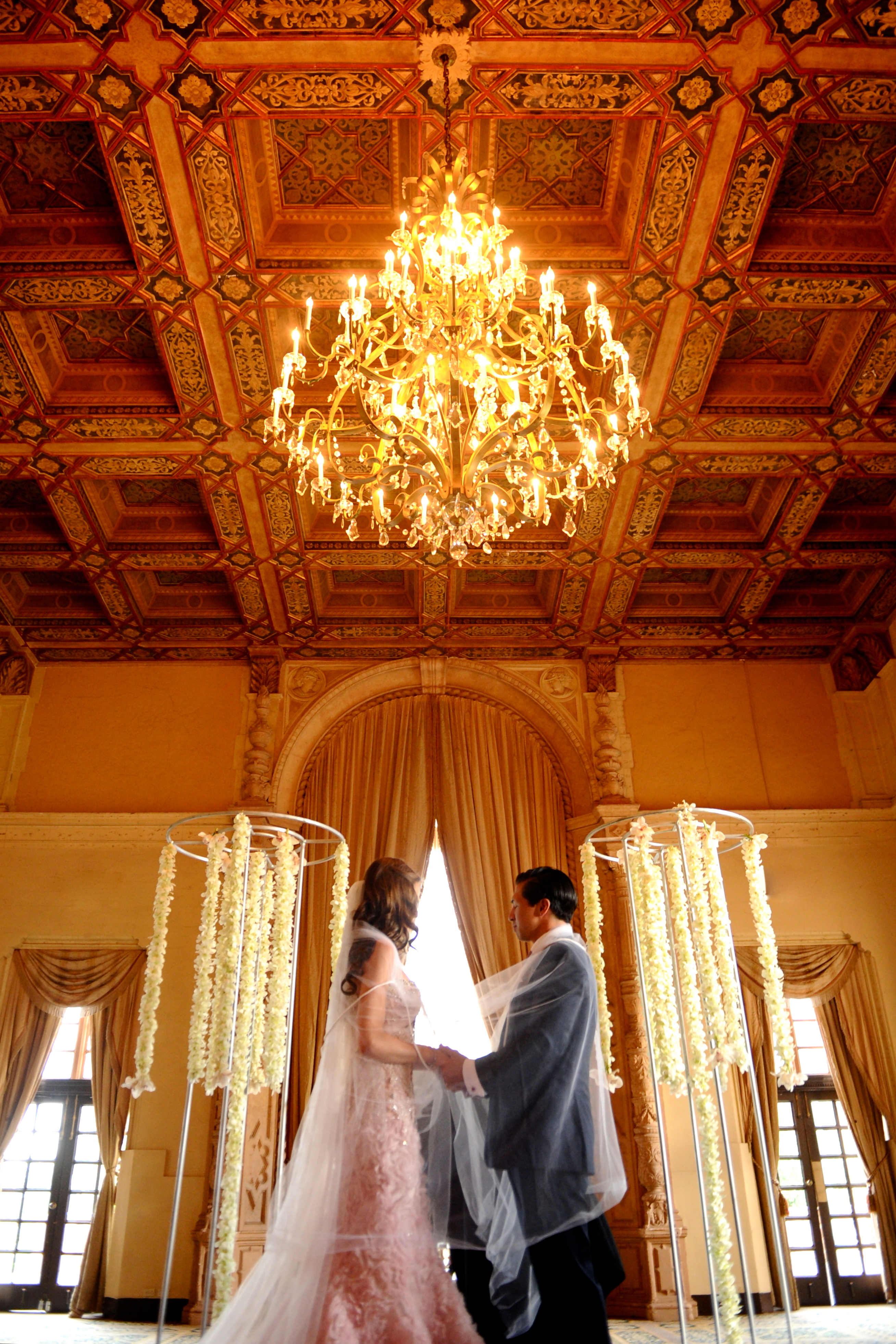Ceremony, Flowers & Decor, Wedding Dresses, Veils, Fashion, pink, dress, Veil, Wedding, Vows, Persephone eddie