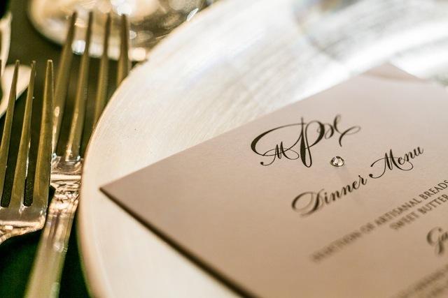 Menu, Wedding menu, Marisa harris, Dishware