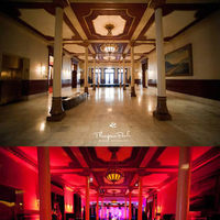 Ceremony, Reception, Flowers & Decor, red, Lighting, Monogram, Wedding, Gobo, Uplighting, Do-it-yourself, Rent, Uplight