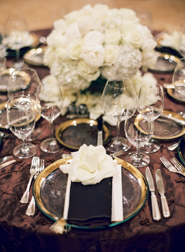 Reception, Flowers & Decor, White flowers, Tablescape, Elisha david, Brown wedding