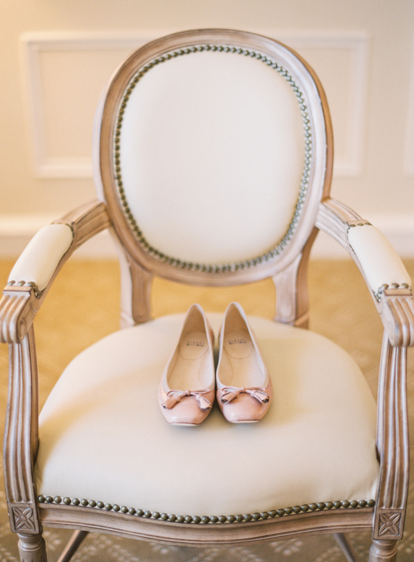 Stuart weitzman, Elisha david, Ballet flat, White chair