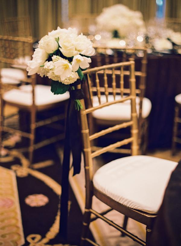 Reception, Flowers & Decor, White flowers, Elisha david, Gold chairs