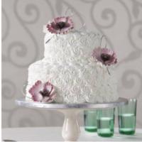 Cakes, white, purple, cake