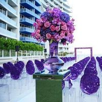 Reception, Flowers & Decor, pink, purple