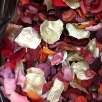 Flowers & Decor, Decor, white, orange, pink, red, purple, green, gold, Aisle Decor, Flowers, Flower, Petals, Aisle