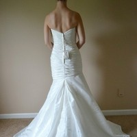 Wedding Dresses, Sweetheart Wedding Dresses, Mermaid Wedding Dresses, Fashion, white, dress, Mermaid, Gown, Wedding, And, Sweetheart, Fit, Flare