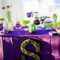 Reception, Flowers & Decor, purple