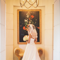 Veils, Fashion, Veil, Train, Strapless dress, Elisha david, Peninsula beverly hills
