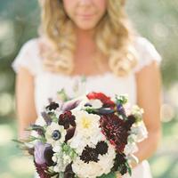 purple, blue, Bouquet, Bridal, Plum, Garnet, Jessica shawn