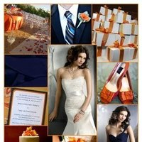 orange, blue, Color, Inspiration board, Inspirations