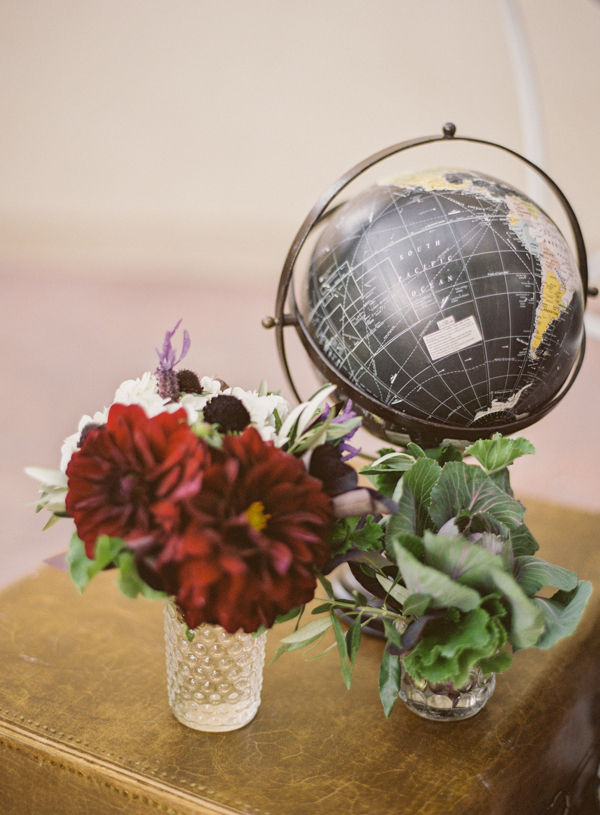 Flowers & Decor, Vintage, Flowers, Vintage Wedding Flowers & Decor, Globe, Garnet, Jessica shawn