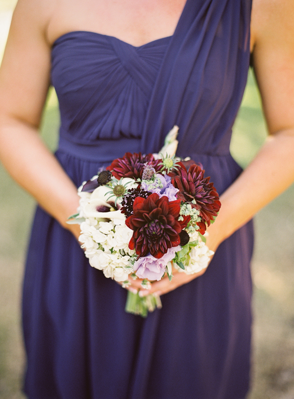 purple, Bridesmaid bouquet, Plum, Jessica shawn