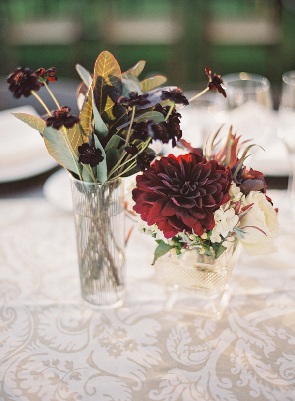 Reception, Flowers & Decor, Rustic, Rustic Wedding Flowers & Decor, Elegant, Villa, Dahlia, Italian, Garnet, Jessica shawn