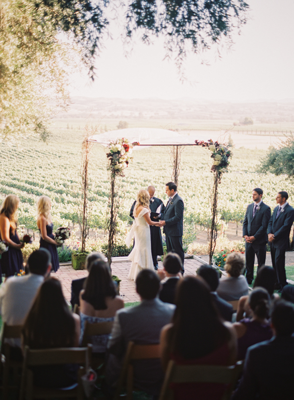 Ceremony, Flowers & Decor, Vineyard, Outdoor, Country, Wine, Canopy, Jessica shawn