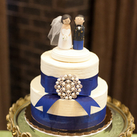 Reception, Flowers & Decor, Cakes, blue, cake