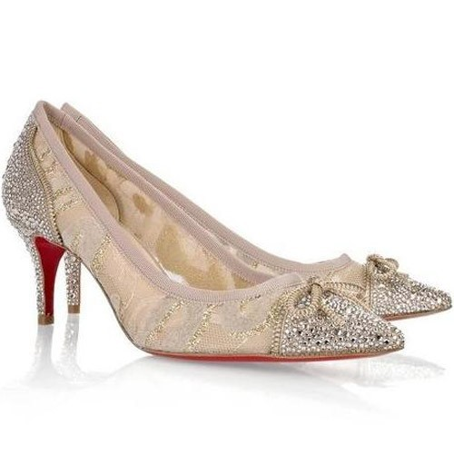 Shoes, Fashion, gold, Christian, Pump, Louboutin