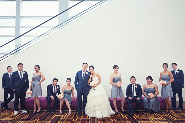 Modern, Wedding party, Grey, Hotel, Navy, Susan sean