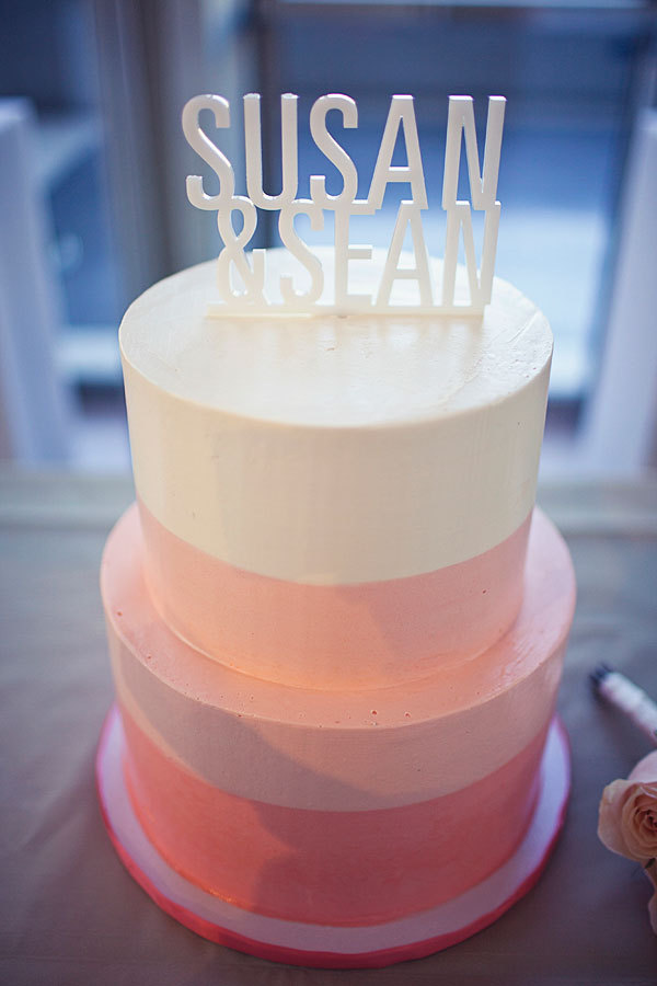 Cakes, pink, cake, Modern, Modern Wedding Cakes, Topper, Contemporary, Sweet and saucy shop, Susan sean
