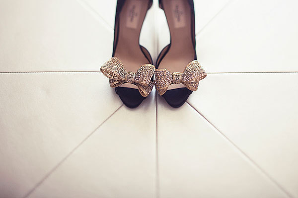 Shoes, Fashion, gold, Bridal, Bows, Susan sean
