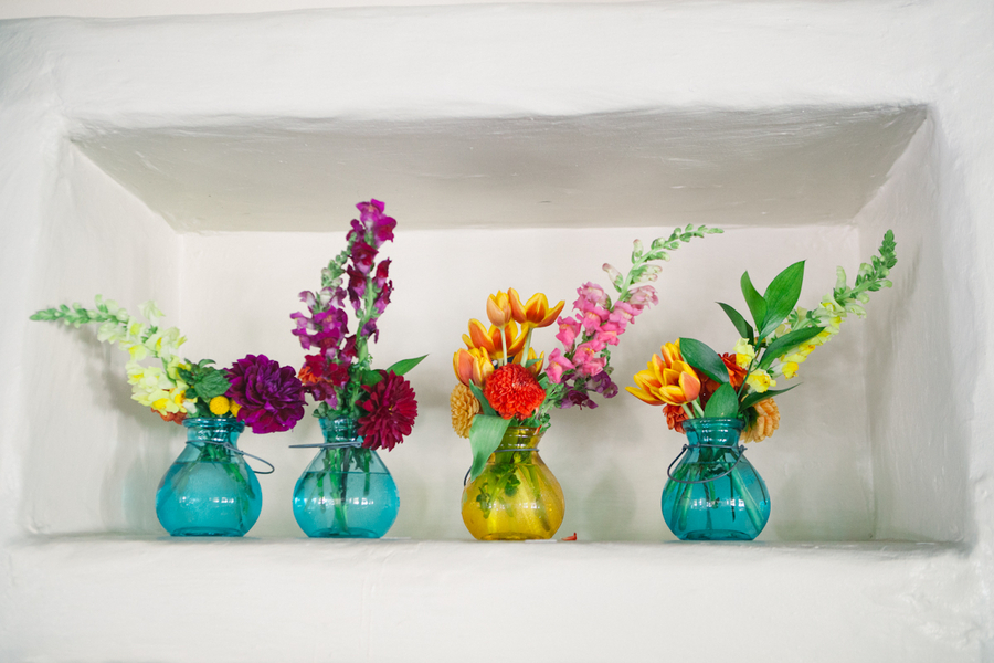 Flowers & Decor, Centerpieces, Flowers, Wedding, Bright, Colorful, Katie jacob