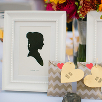 Flowers & Decor, Decor, Favors & Gifts, yellow, Favors, Portrait, Wedding, Heart, Silhouette, Chevron, Katie jacob