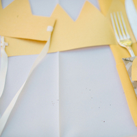 yellow, Grey, Table, Setting, Crown, Chevron, Katie jacob