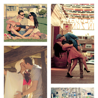 Beach, Vintage, Fun, Photos, Newport, Engagement, Inspiration board, Shoot, Balboa
