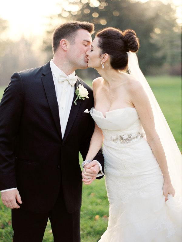 white, black, Winter, Wedding, Romantic, Wisconsin, Meagan david