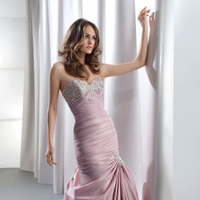 Wedding Dresses, Hollywood Glam Wedding Dresses, Fashion, pink, dress, Glam, Wedding, Demetrios