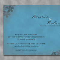 Stationery, Paper, blue, invitation, Vintage, Vintage Wedding Invitations, Invitations, Wedding, Grey, Design, Textured