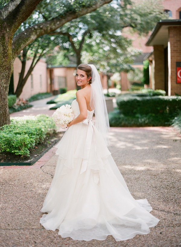 Wedding Dresses, Veils, Ball Gown Wedding Dresses, Fashion, dress, Bride, Veil, Gown, Wedding, Strapless, Strapless Wedding Dresses, Tiered, Ballgown, Texas, Watters, Carly darion
