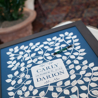white, blue, Guestbook, Navy, Graphic, Carly darion