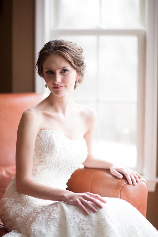 white, Bride, Portrait, Bridal, Strapless, Allure, Heather david