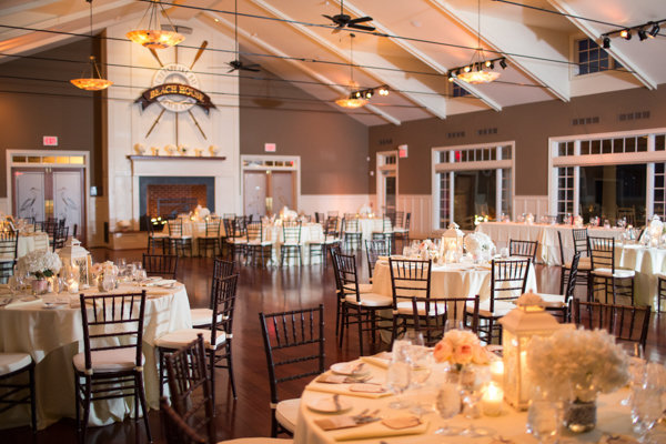 Reception, Flowers & Decor, Decor, ivory, Beach, Beach Wedding Flowers & Decor, Club, Bay, Indoor, Chesapeake, Heather david