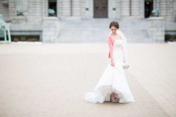 pink, Winter, Bride, Preppy, Academy, Annapolis, Cardigan, Naval, Heather david
