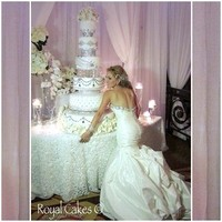 Reception, Flowers & Decor, Wedding Dresses, Cakes, Fashion, white, cake, dress