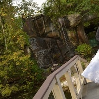 Wedding Dresses, Fashion, orange, dress, Bride, Groom, Waterfall