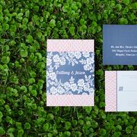 Stationery, white, pink, Invitations, Mrs, Preppy, Post, Brittany jason