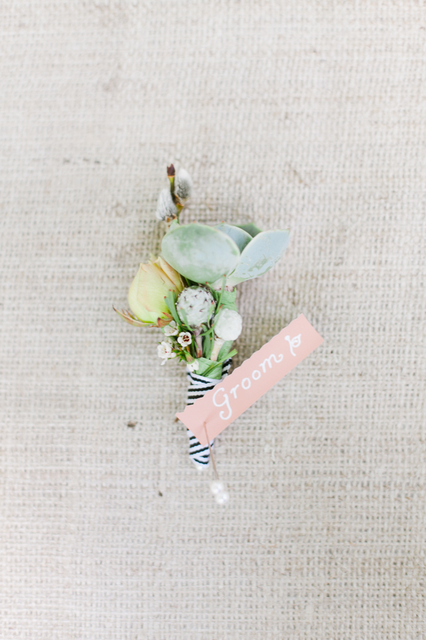 Spring, Southern, Boutonniere, Stripes, Preppy, Succulent, Pastel, Brittany jason