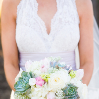 white, ivory, pink, green, Bouquet, Lace, Country, Chic, Succulent, Victoria john