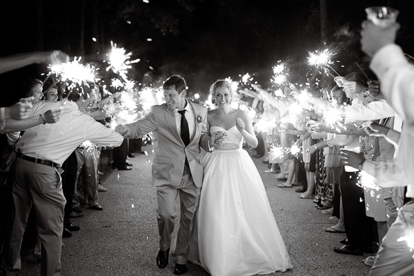 Wedding, Sparklers, Off, Send-off, Fist, Send, Bump, Brittany jason, Goodbye